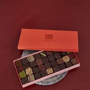 Chocolate Ganache Selection Box Of Thirty Six - chocolates & confectionery