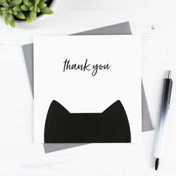 Cat 'Thank You' Card