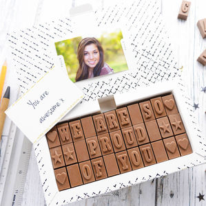 Create Your Own Chocolate Card - chocolates & confectionery