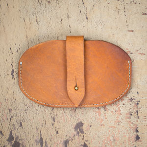 Personalised Leather Mouse Case