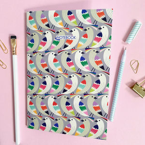 Printed Notebook, Gift For Her