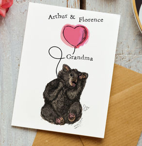 Personalised Card For Grandma Or Nana