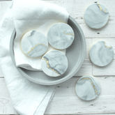 Personalised Marble Sugar Cookies - food & drink
