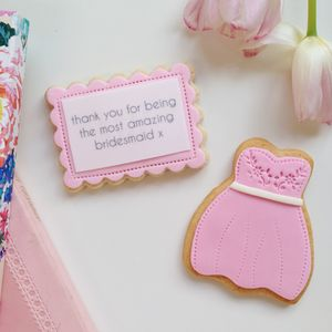 Bridesmaid Thank You Gift - cakes & sweet treats