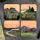 Scottish Landscape Coasters Gift Box
