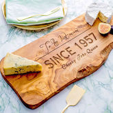 Personalised Wooden Chopping/Cheese Board - wedding gifts