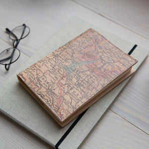 Personalised Refillable Leather Journal - gifts for grandfathers
