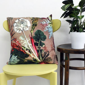 Tropical Design Throw Pillow For Interior Decor