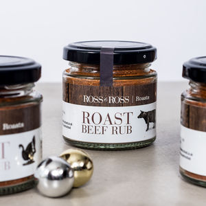 Christmas Roast Beef Rub