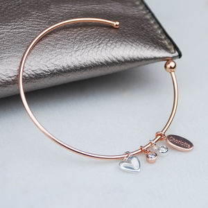 Friends For Life Charm Bangle - children's accessories