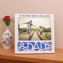 Dad Personalised Photo Frame