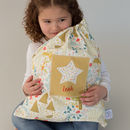 Personalised Woodland Storage Bag