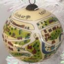 Illustrated Edinburgh Bauble
