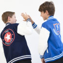 Child's Personalised College Varsity Jacket