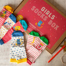 Girls Socks Box