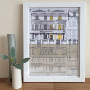 Personalised Architectural Illustration House Portrait - new this christmas