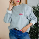 Embroidered Personalised 'Year' Unisex Sweatshirt