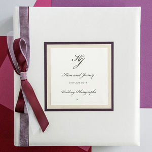 Personalised Large Traditional Photograph Album