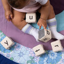 Personalised Sensory Alphabet Blocks