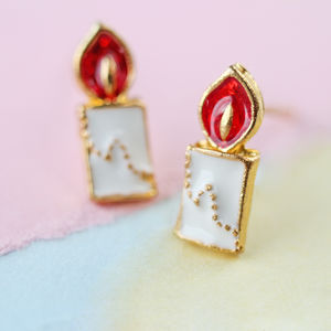 Birthday Candle Earrings