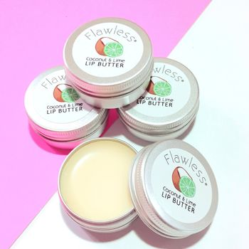 Vegan Lip Butter With Coconut Oil And Lime