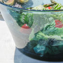 Ocean Blue Foam Salad Bowl