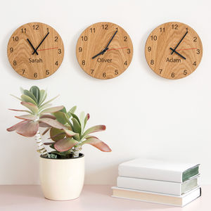 Personalised People Clocks