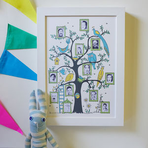 Family Tree Photograph Print - nursery pictures & prints