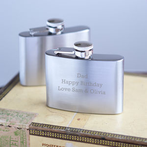 Personalised Hip Flask - hip flasks