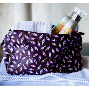 Falling Feather Wash Bag