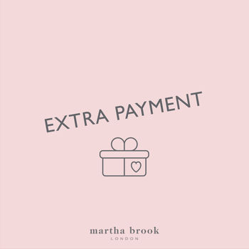 Martha Brook Extra Payment