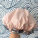 Shower Cap Blush Pink