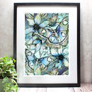 Atlas Moth Limited Edition Mounted Giclée Print