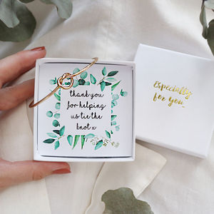 will you be my bridesmaid gift tokens