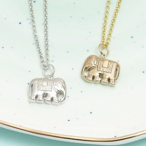 Elephant Necklace For Strength