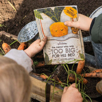 Personalised Plantable Carrot Children's Story Book