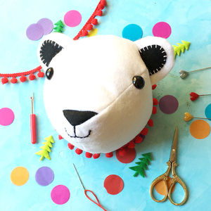 Percy Polar Bear Craft Kit - hanging decorations