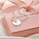 Personalised Small Heart Silver Hope Necklace