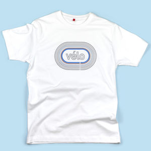 Vélo Cycling T Shirt - gifts for cyclists