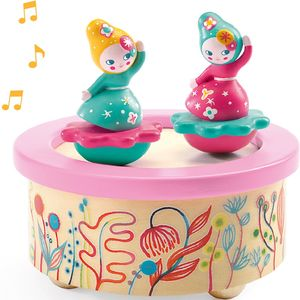 Classical Music Wooden Dancing Music Box