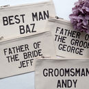 Personalised Groomsmen Pouch