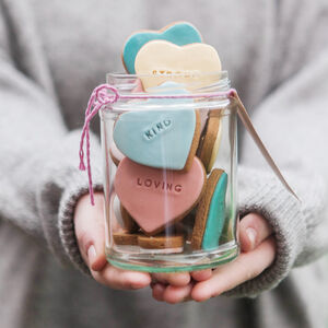 Jar Of 'Reasons Why I Love You' Biscuits