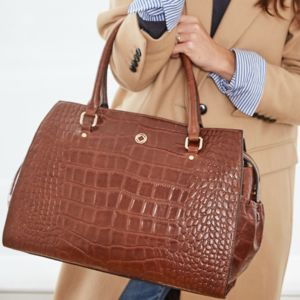Ivy Leather Work And Travel Handbag - whats new