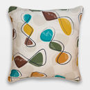 Midcentury Inspired Cushion 'Spiro' Design