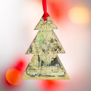 Handmade Christmas Tree Decoration - tree decorations