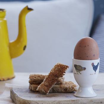 Country Chickens Egg Cup