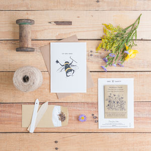 'The Bee's Knees' Seed Card - thank you cards