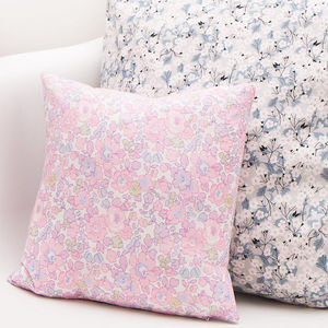 Liberty Print Cushion Betsy Rose - decorative accessories