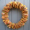 Citrus And Cinnamon Wreath For Home Wall Door