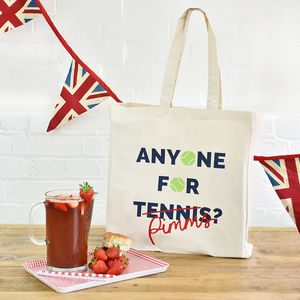 'Anyone For Pimms' Wimbledon Tote Bag - view all sale items